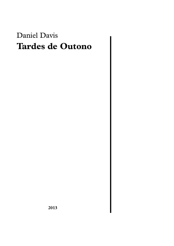 Tardes de Outono (2013)