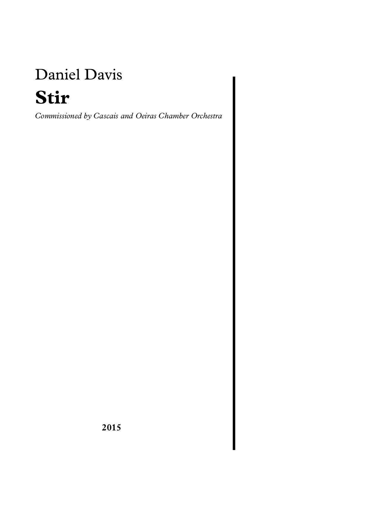 Stir (2015)