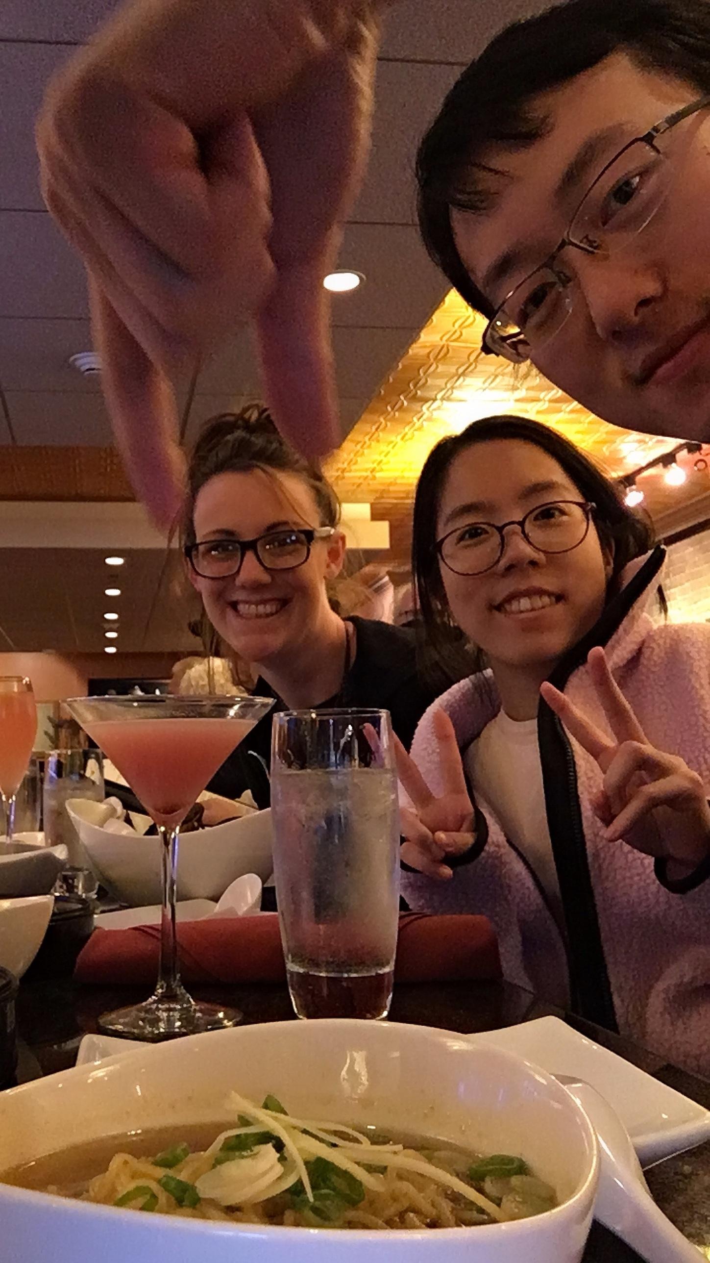 Dinner at Mia's Restaurant -