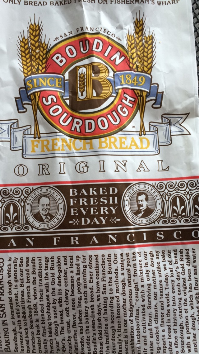 Boudin Bakery- this breadcould be dangerous. Too good!