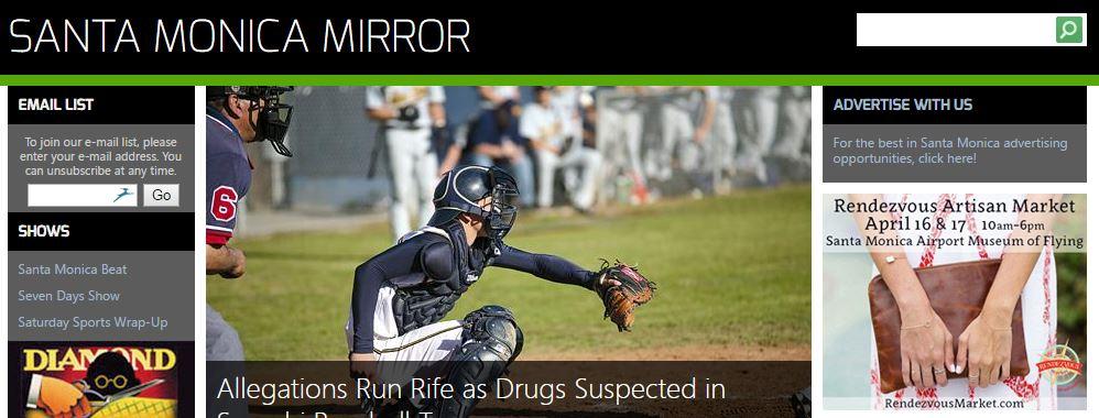 Santa Monica Mirror