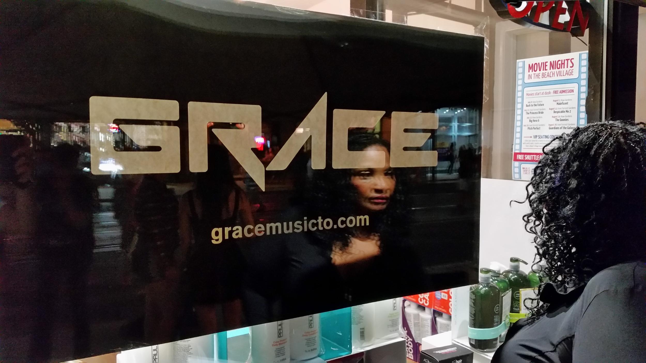 Grace out....