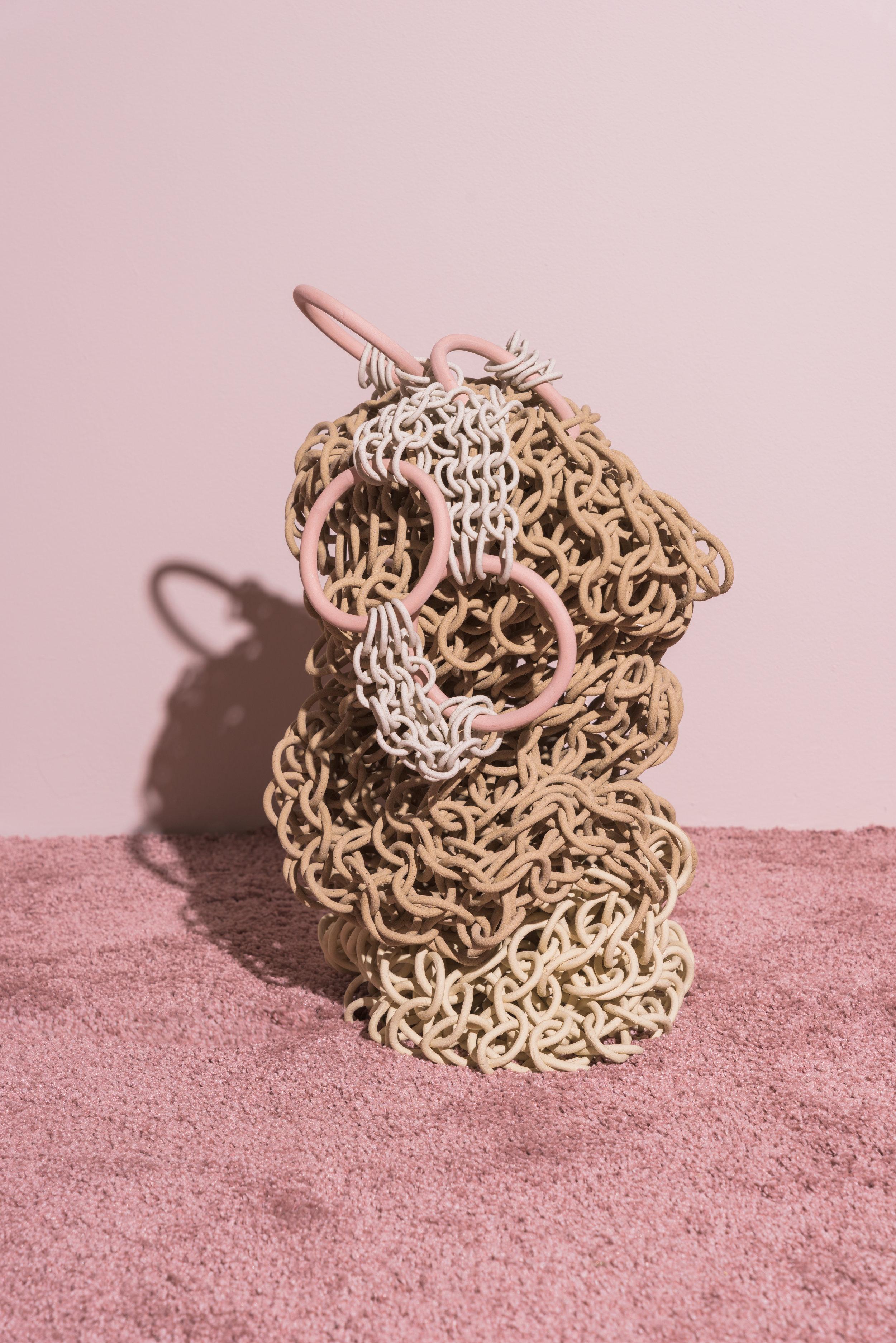 Chain Basket -Taylor Kibby