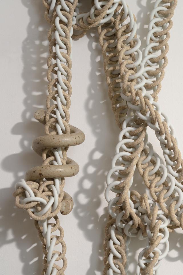 Ceramic Knot (detail) -Taylor Kibby