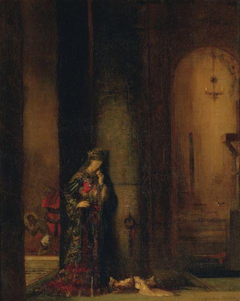 Moreau :Salome_at_the_Prison