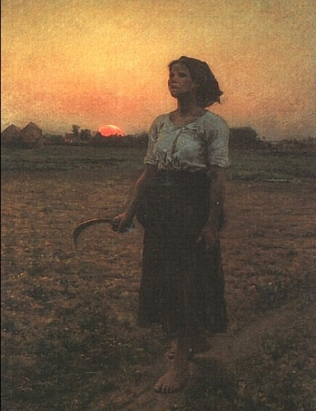"""The Song of the Lark"" by Jules Breton"