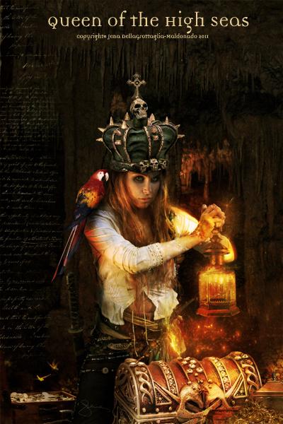 """""""Queen of the High Seas"""" by http://autumnsgoddess.deviantart.com/"""