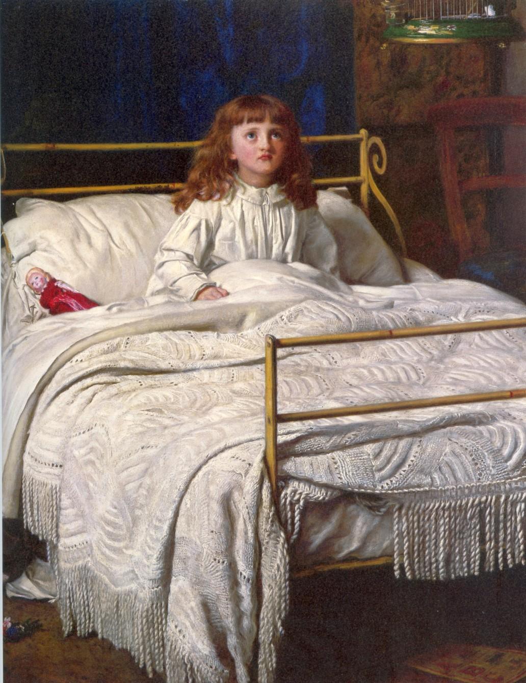 John Everett Millais - Waking
