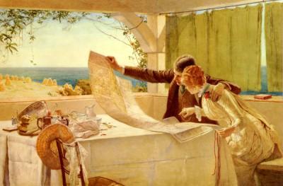 """The Honeymooners"" by Edward Frederick Brewtnall"