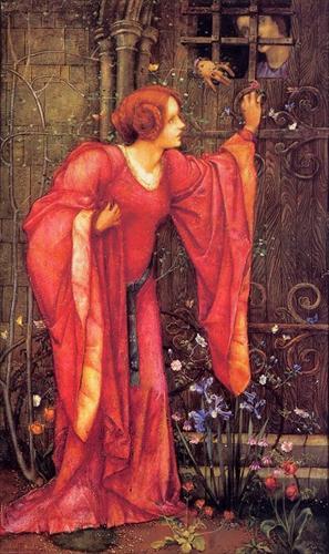 Painting by Edward Reginald Frampton