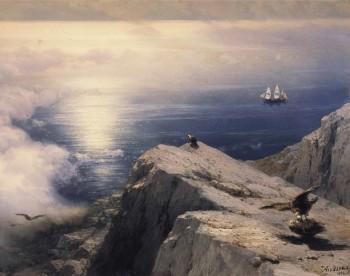 Painting by Ivan Alvazovsky