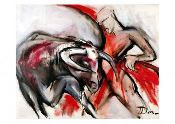 """Corrida"" by Elena Drobychevskaja"