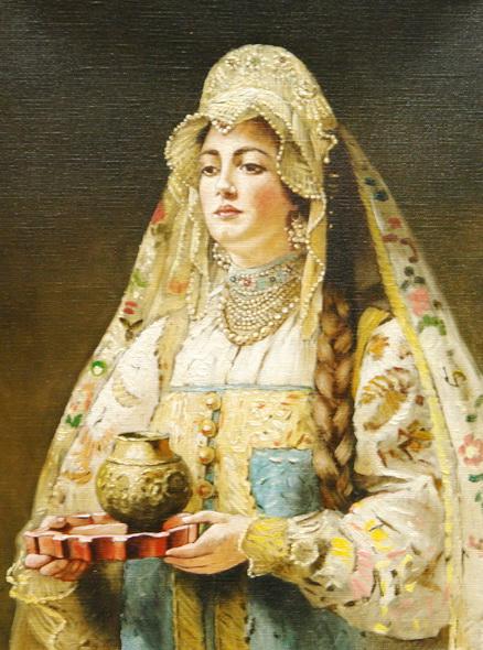 Painting by Konstantin Makovsky