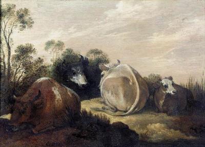 Painting by Gillis Claesz. de Hondecoeter