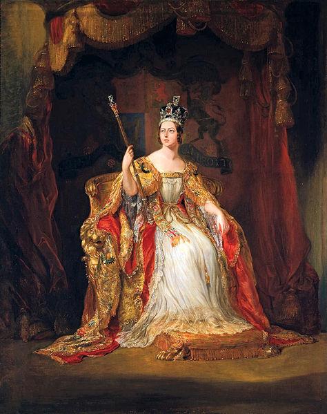 Queen Victoria by George Hayter