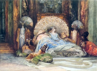 Image by Georges Jules Victor Clairin