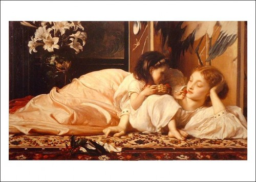 Painting by Frederick Lord Leighton