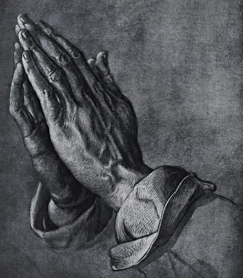 """""""Praying Hands"""" by Albrecht Durer"""