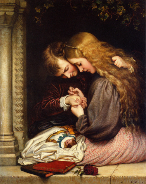 """""""The Thorn"""" by Charles West Cope"""