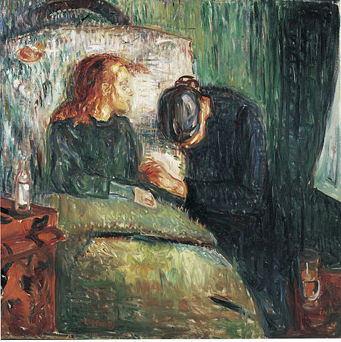 By Edvard Munch - https://www.flickr.com/photos/28433765@N07/13581965624, Public Domain, https://commons.wikimedia.org