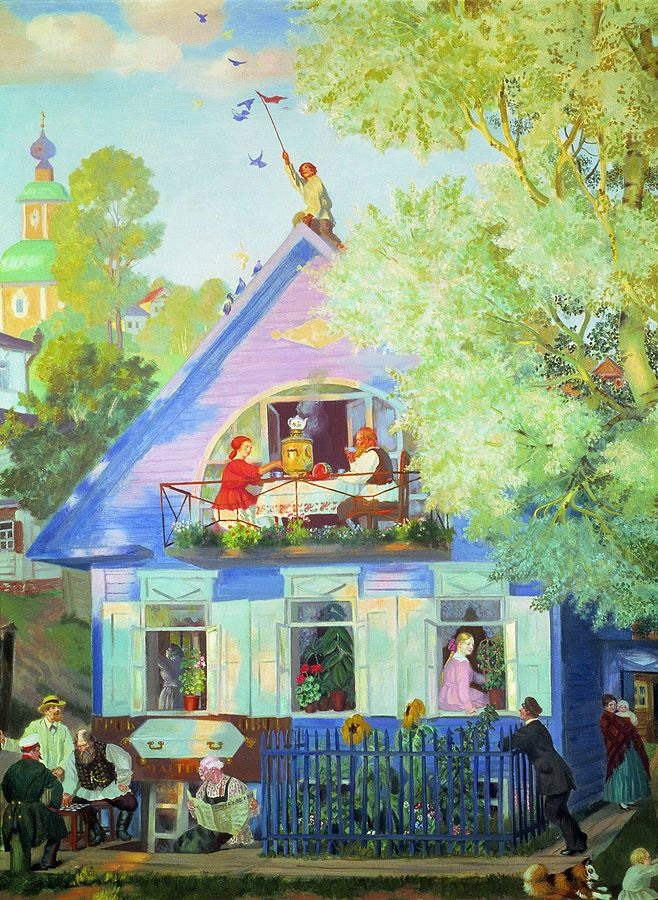 Boris Kustodiev, 1920:  {{ PD-old-80 }}, https://commons.wikimedia.org