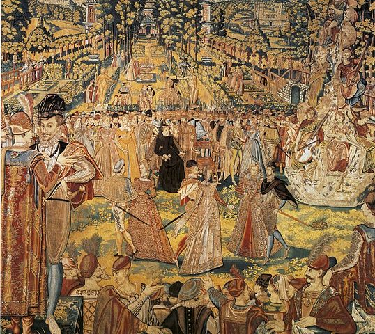 Tapestry designed at least in part by Antoine Caron. 1580. Public Domain, https://commons.wikimedia.org
