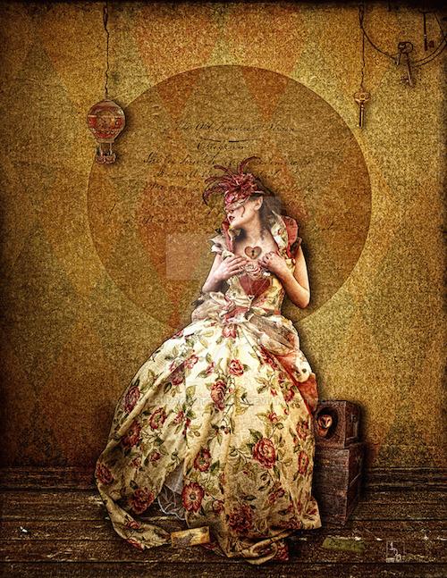 """Jena DellaGrottaglia , """"Old Familiar Stain"""""""