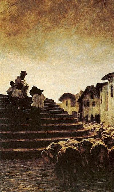 Giovanni Segantini: Public Domain, https://commons.wikimedia.org