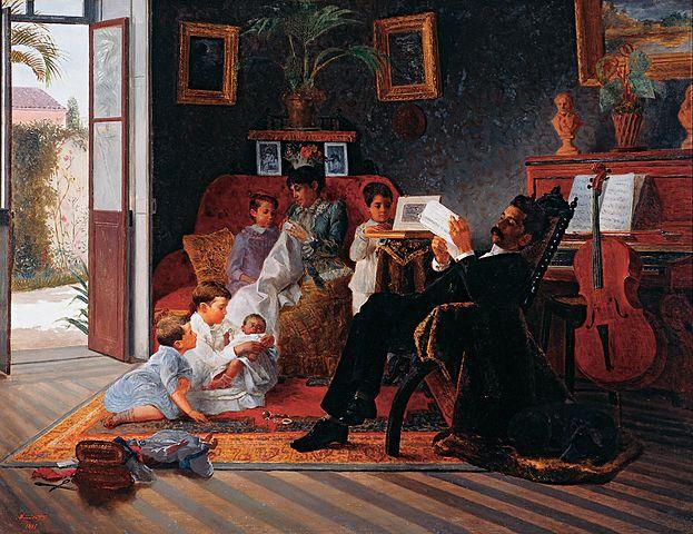 José Ferraz de Almeida Júnior - Google Art Project, Public Domain, https://commons.wikimedia.org