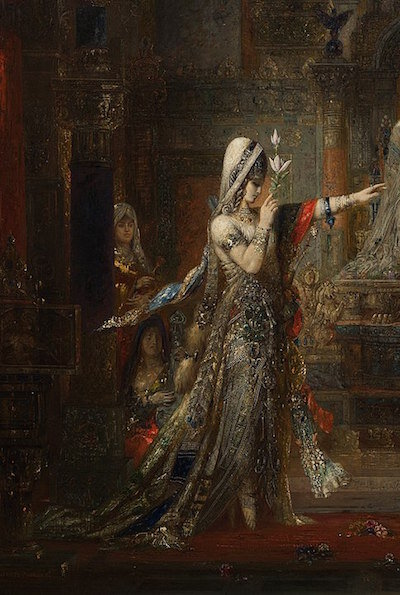 By Gustave Moreau's Salome - https://hammer.ucla.edu/exhibitions/2012/a-strange-magic-gustave-moreaus-salome/#gallery_70e9f8bf5871e205a75c193cedae084e947a0648, CC BY-SA 4.0,  https://commons.wikimedia.org