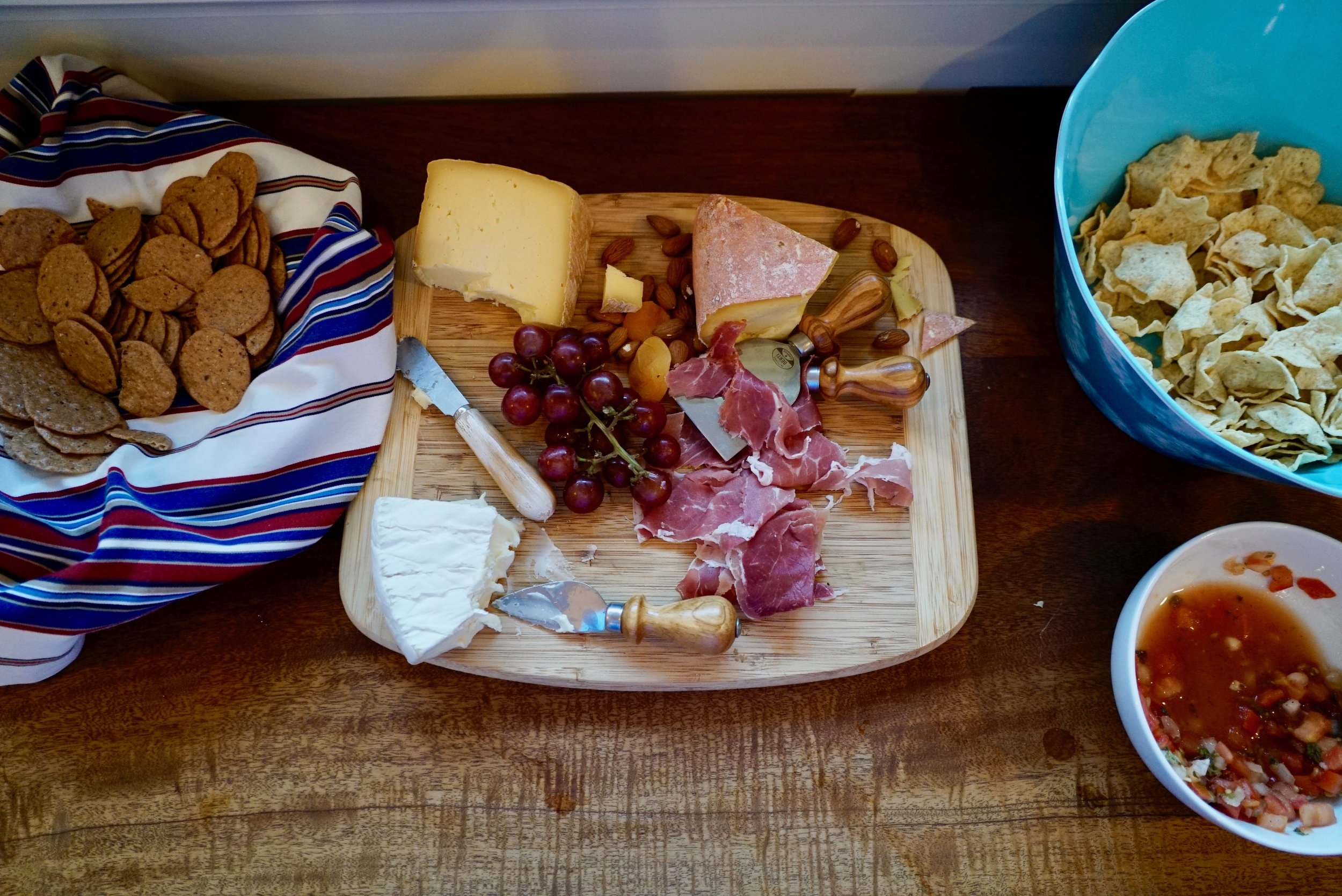 Cheese Plate & Appetizers - guest-friendly snacks