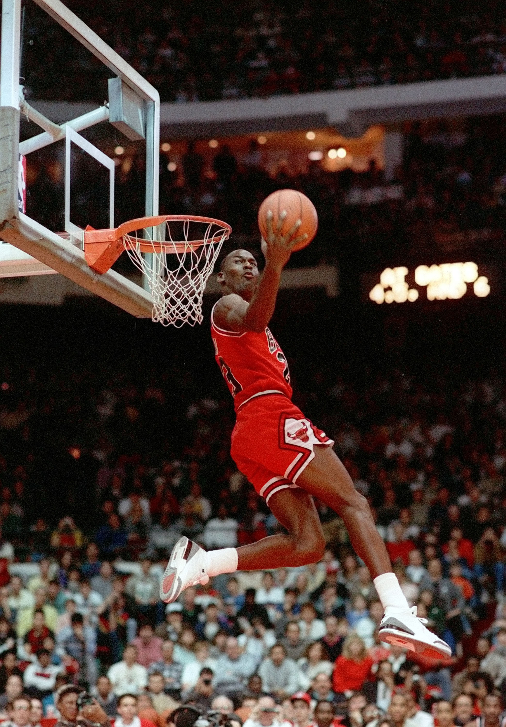 Michael Jordan when asked admitted that he could fly even if it was briefly!