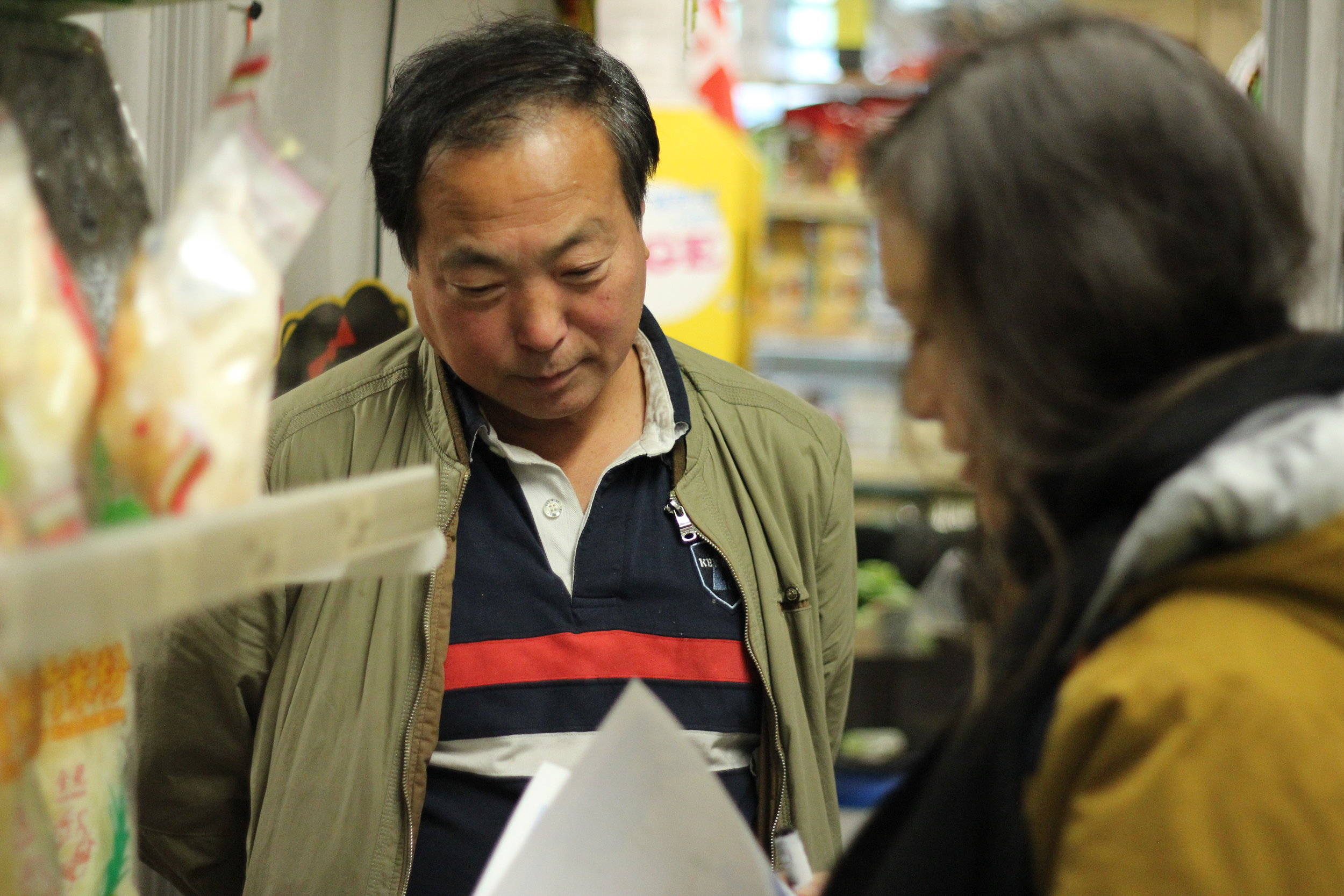 Ruping is the owner of Today Købmand, a Chinese supermarket in Vesterbro, and a partner for District Spice.