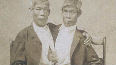 Season two, episode one is about the lives of Chang and Eng Bunker, the world's first Siamese twins.