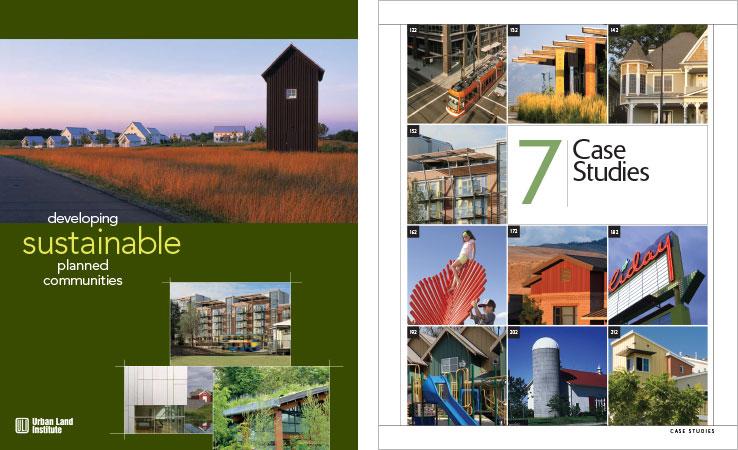 Book Design Portfolio: Architecture, Urban Development Book: Developing Sustainable Planned Communities