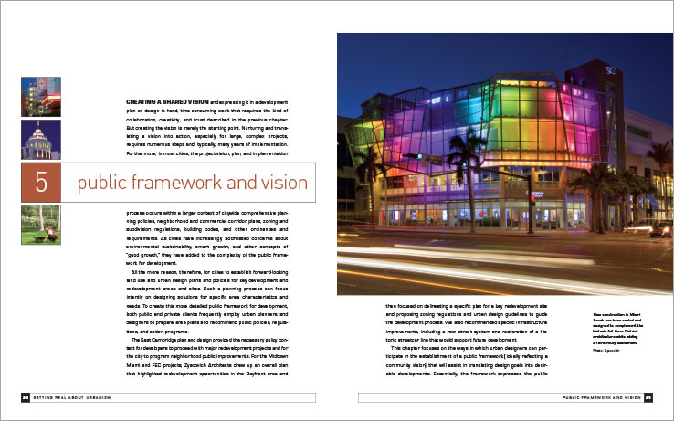 Book Design Portfolio: Architecture, Urban Development Book: Getting Real About Urbanism