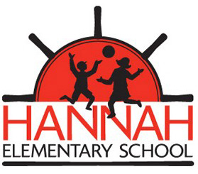 Logo and Identity Design Portfolio: Hannah Elementary School Logo
