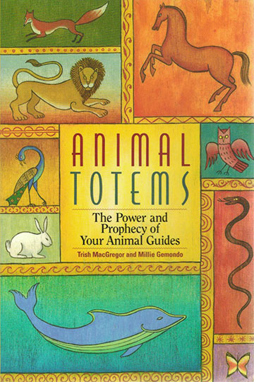 Book Design Portfolio: New Age: Art Direction: Animal Totems.