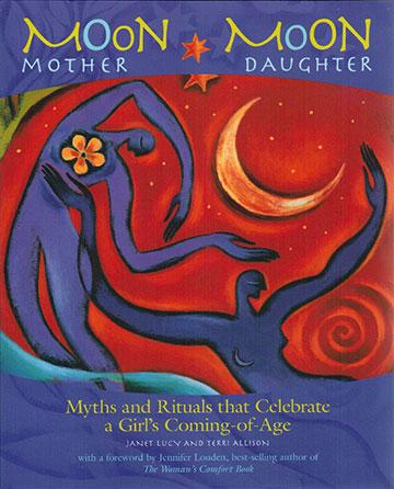 Book Design Portfolio: New Age: Art Direction: Moon Mother, Moon Daughter