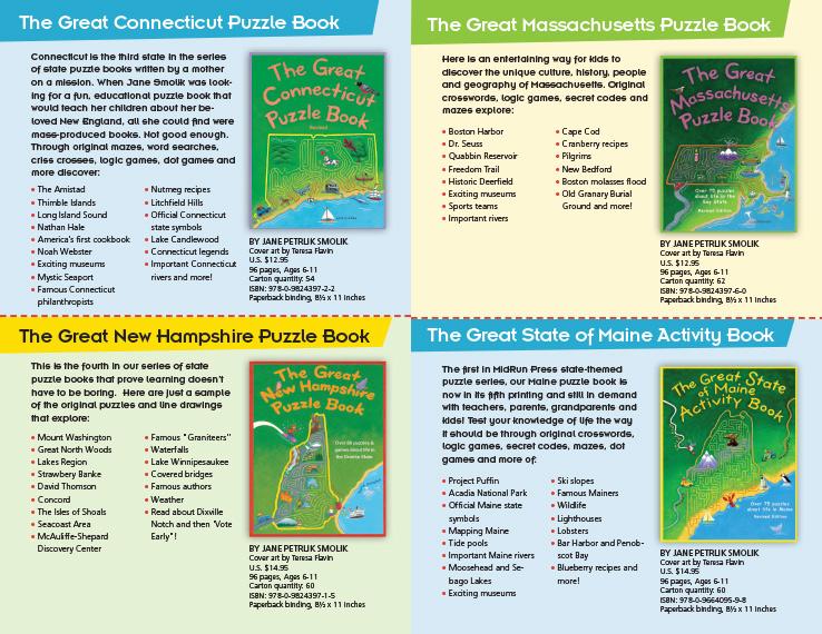Program & Catalog Design: Children's Book Catalog : MidRun Press