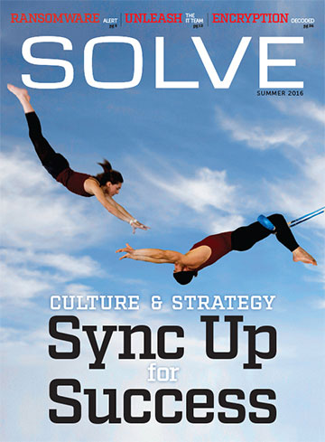 Solve magazine. A content marketing publication we developed and produced quarterly with RSL Media for Time Warner Cable.