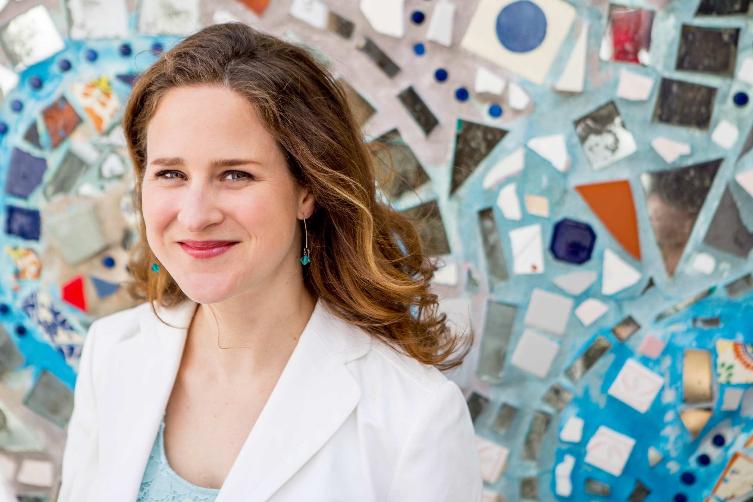 Headshot of a Female Entrepreneur | Main Line Philadelphia Portrait Photographer