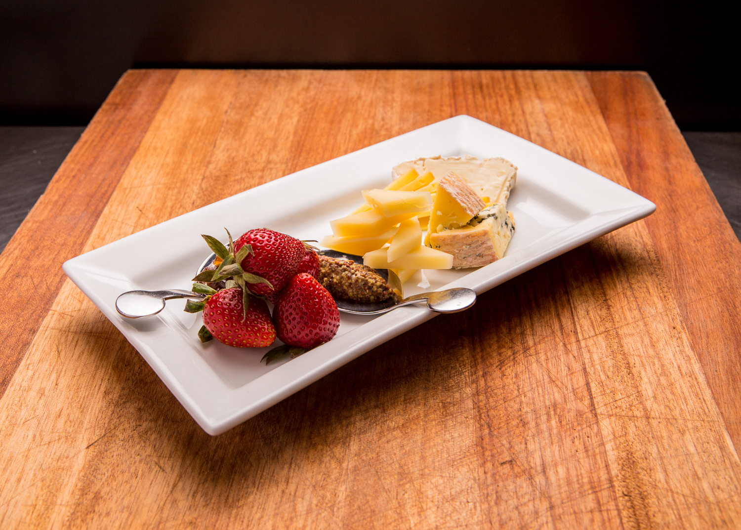 Cheese and Strawberries | Main Line Philadelphia Food Photographer