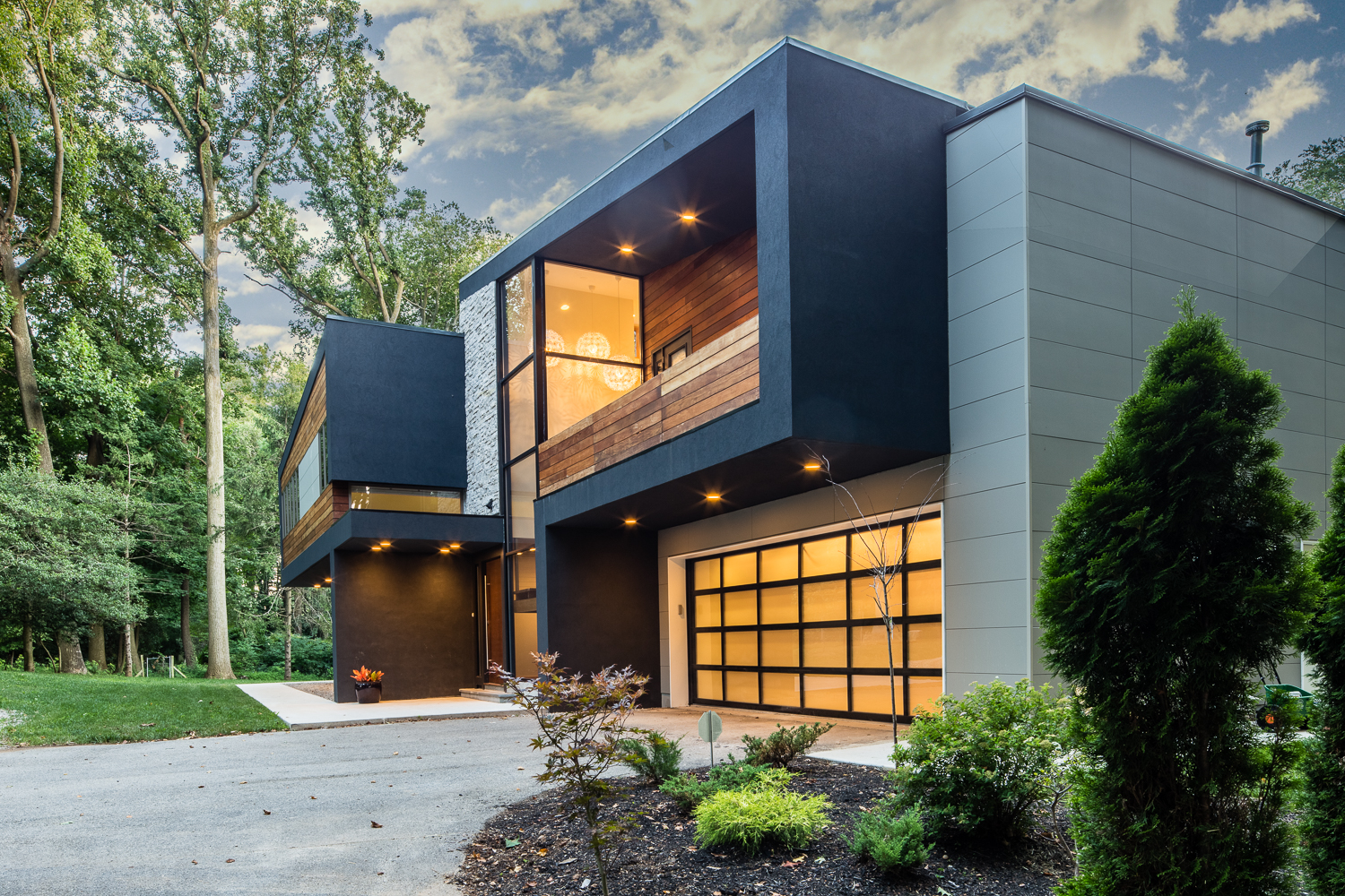 Modern Home   Architecture by Bloomfield Architects   Main Line Philadelphia