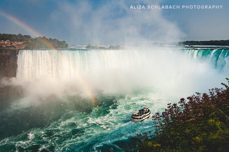 The Boat and Niagara Falls