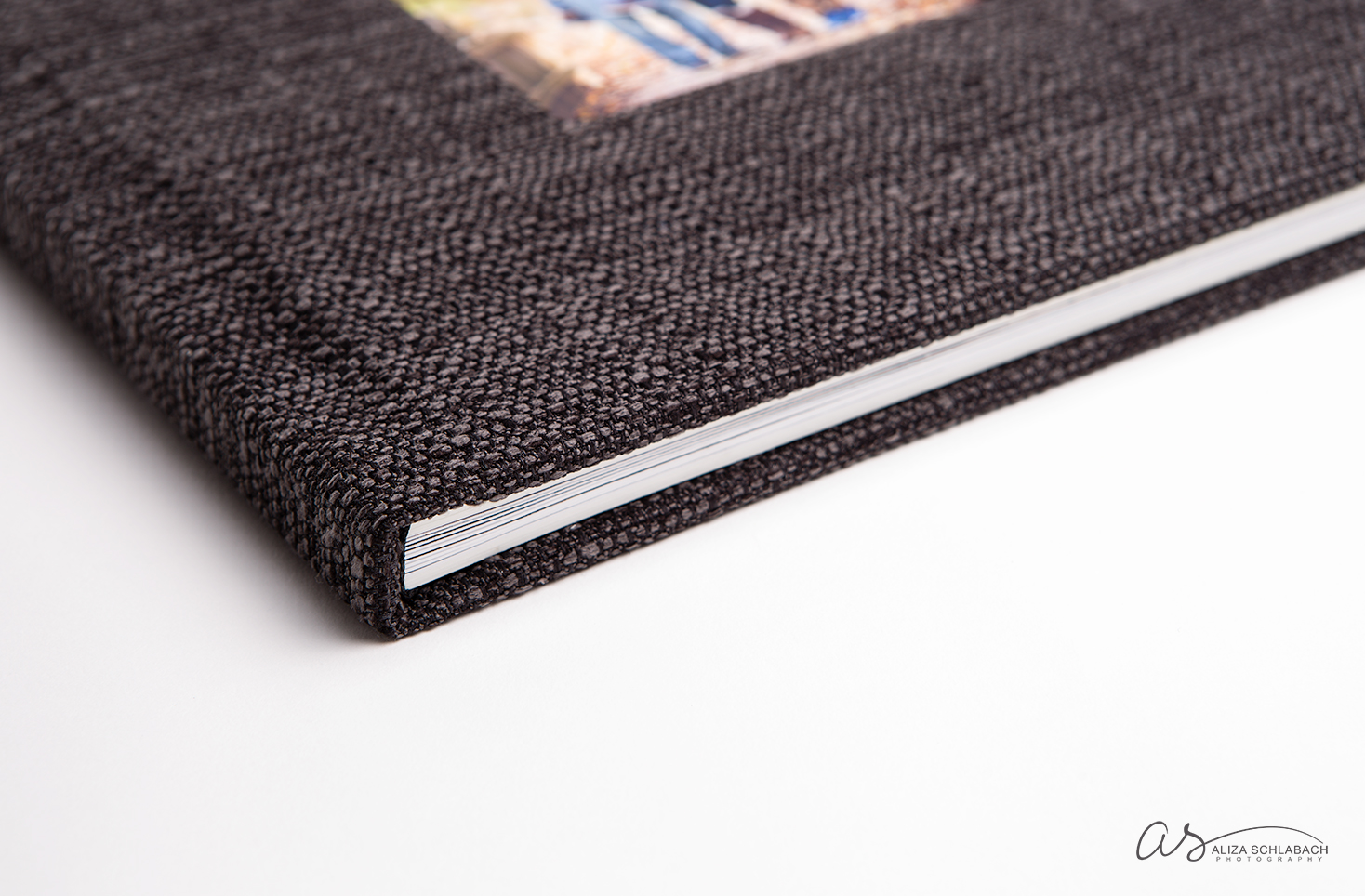 Photo of Lush Album. Notice the gorgeous highly textured fabric.