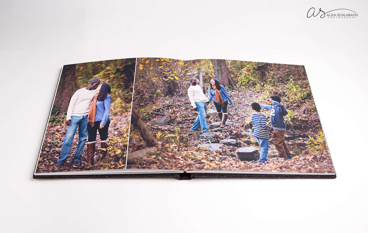 Photo of Lush Album. Aliza Schlabach Photography only offers albums available exclusively to professional photographers.