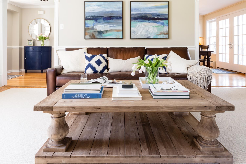 Living room interior design by Larina Kase