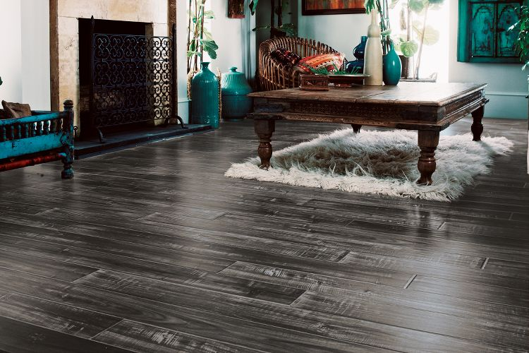 Wide plank laminate