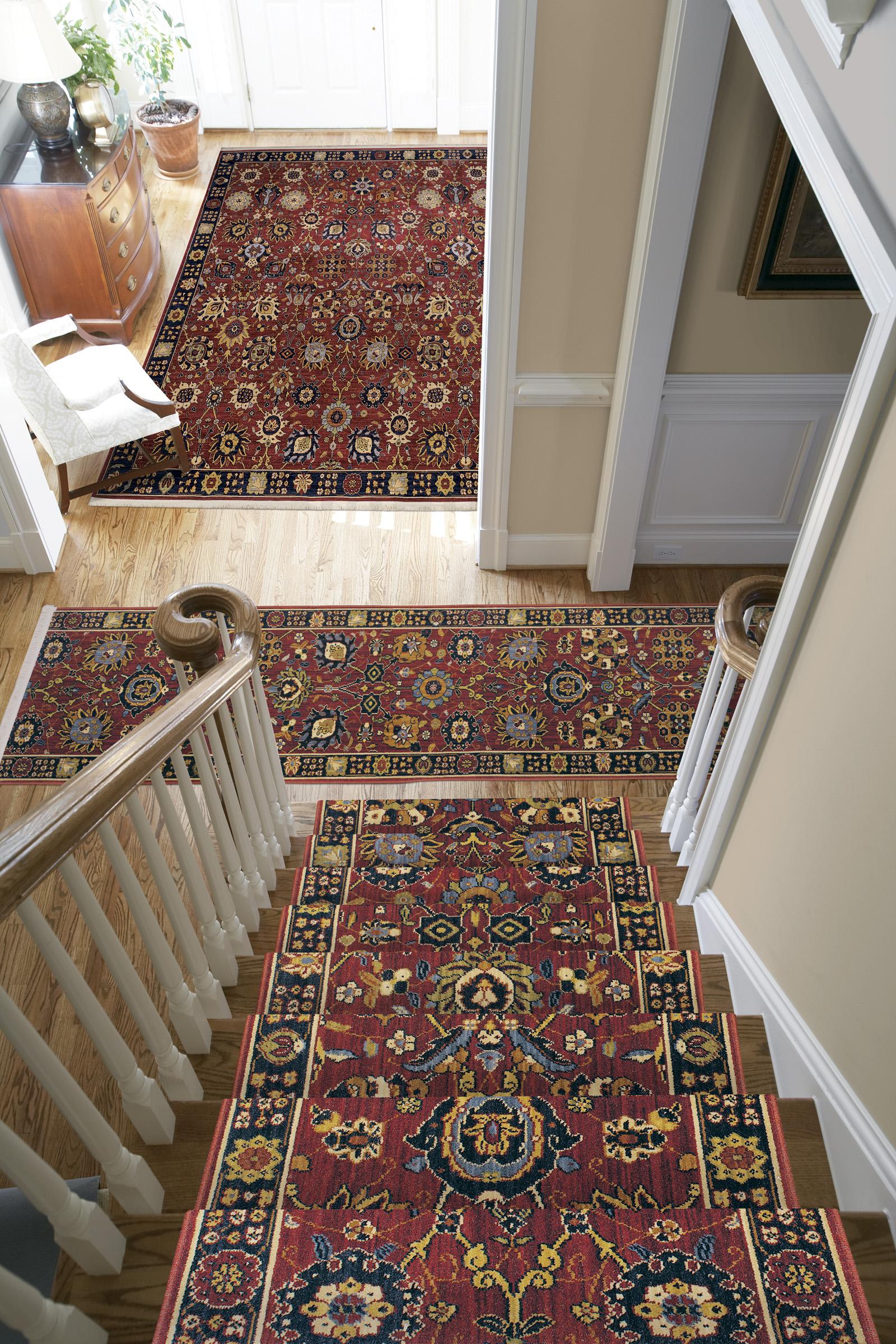 Stair runner & rug